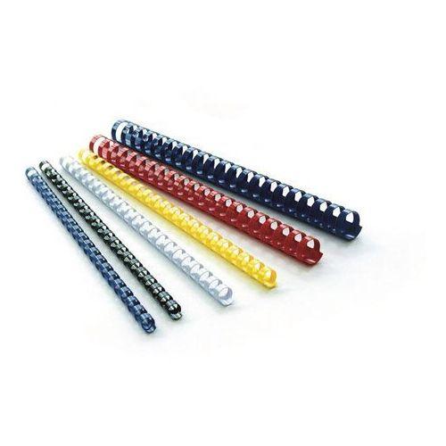 Grzbiety do bindowania 5mm - czarne op.100