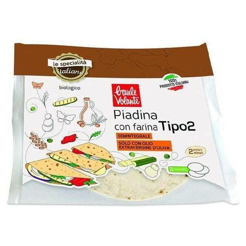 Ecor Tortilla pszenna z oliwą z oliwek extra virgin bio 240 g baule volante