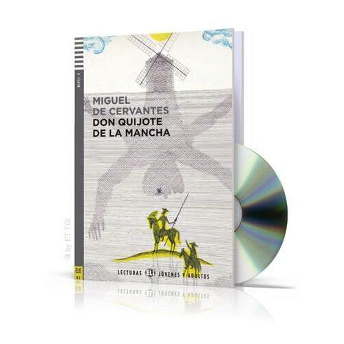 Lecturas ELI Jovenes y Adultos - Don Quijote de la Mancha + CD Audio, Miguel de Cervantes