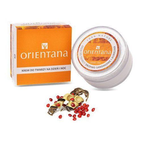 Krem do twarzy - drzewo sandałowe i kurkuma 50g marki Orientana