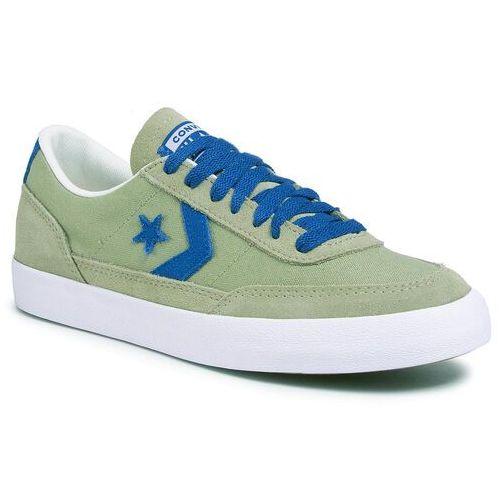 Tenisówki CONVERSE - Net Star Classic Ox 167623C Street Sage/Court Blue/White, kolor zielony
