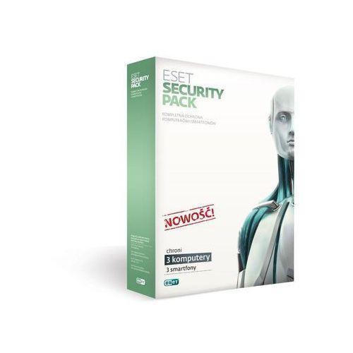 Eset security pack box -3 stan / 12m +3 smartfony / 12m