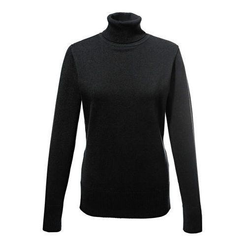 Sweter z golfem czarny, Bonprix, 36-50