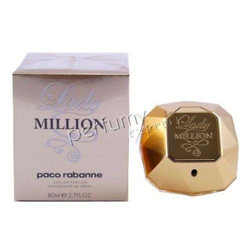 Paco rabanne lady million woda perfumowana 80ml