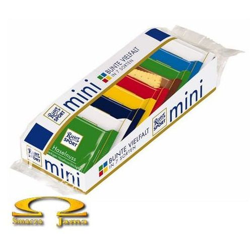 Zestaw Czekoladek Ritter Sport Mini Mix 150g (5902888421777)