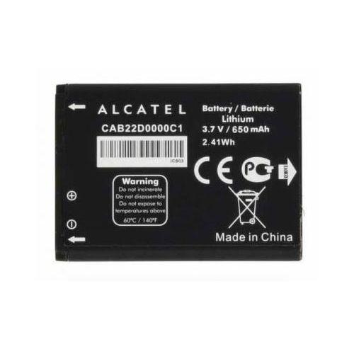 Bateria Alcatel CAB22D0000C1 OT-665 650 mAh Oryginalna, CAB22D0000C1
