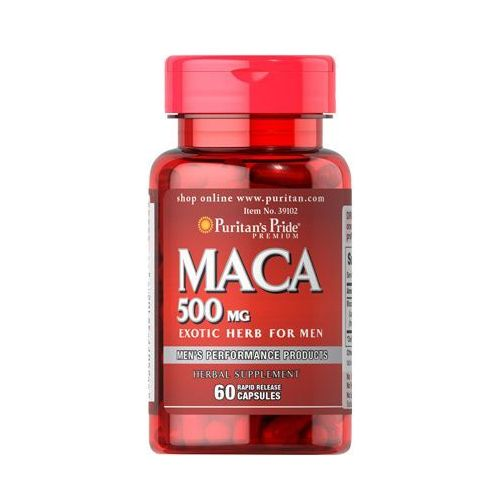 Puritan's Pride Maca extract 500mg 60 kaps.