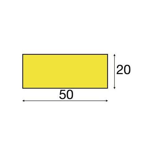 Zabezpieczenie powierzchni knuffi® w kolorze czerwonym / białym,1 rolka 5 m marki Shg pur-profile
