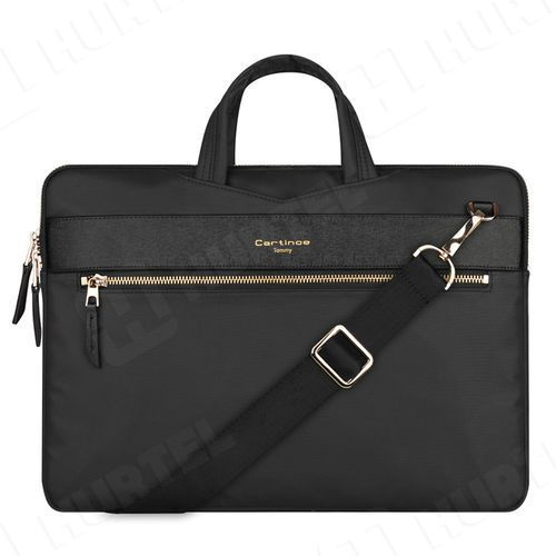Cartinoe torba na laptopa London Style Series 13,3 cala czarna - Czarny \ 13.3 (7425753841282)