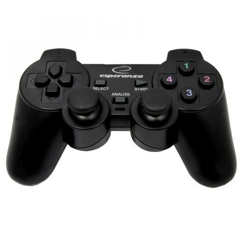 Gamepad corsair eg106 do ps2 ps3 pc usb wibracje marki Esperanza