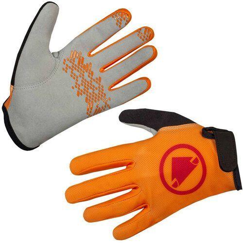 Endura Hummvee Rękawiczki Dzieci, mandarin 7-8Y 2020 Rękawice dziecięce
