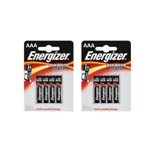Zestaw ENERGIZER 2x 4szt Baterie LRO03 Alkaline (AAA)