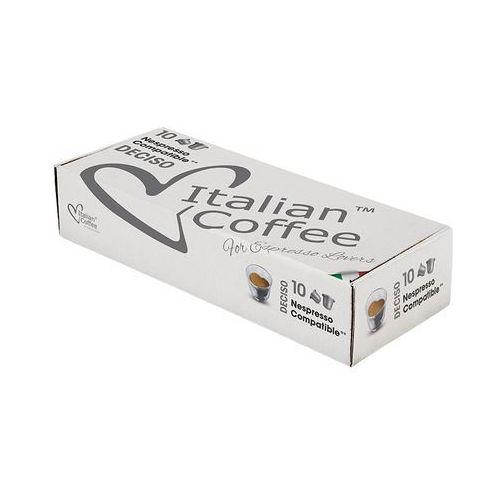 Nespresso kapsułki Deciso italian coffee kapsułki do nespresso – 10 kapsułek (8054890310031)