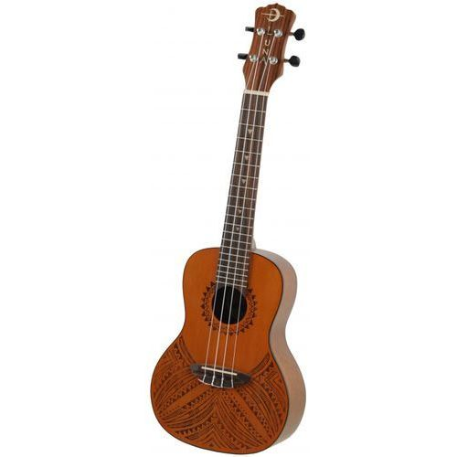 Luna Tapa Cedr ukulele koncertowe elektroakustyczne