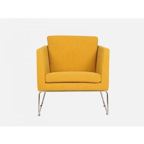 Fotel Clark low AMSTEL 4 mustard tkanina musztardowa  E1553-0001-2S-AMSTEL4, marki Sits do zakupu w sfmeble.pl