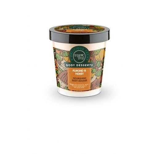 Sib Organic shop body desserts mus do ciała almond & heney milk 450 ml