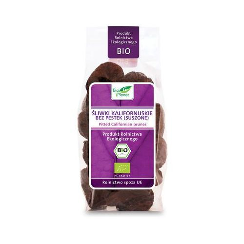 Bio Planet: śliwki kalifornijskie bez pestek BIO - 200 g (5907814662408)