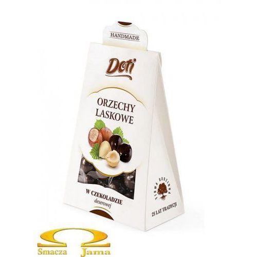 Orzechy laskowe w deserowej czekoladzie 100g kartonik marki Doti