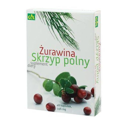 Kapsułki Żurawina + Skrzyp Polny 48 kaps.
