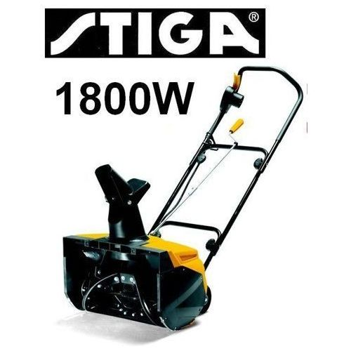 Pług śnieżny śniegu odśnieżarka odśnieżarki elektryczna stiga snow electric 45 - 18-2802-32 marki Stiga sweden