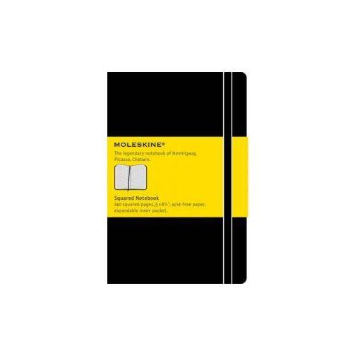 Moleskine Large Squared Hardcover Notebook Black, Moleskine