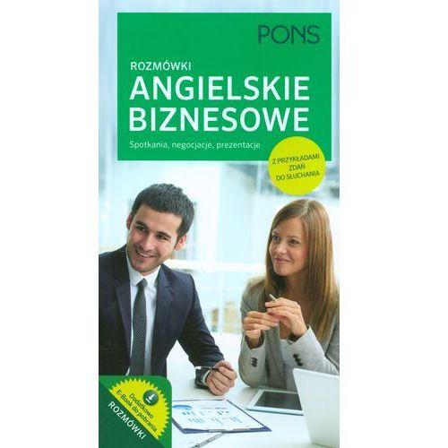 Rozmówki biznesowe angielskie z dodatkiem kulturowym i słowniczkiem, PONS