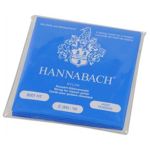 Hannabach (652387) e800 ht struny do gitary klasycznej (high)? komplet