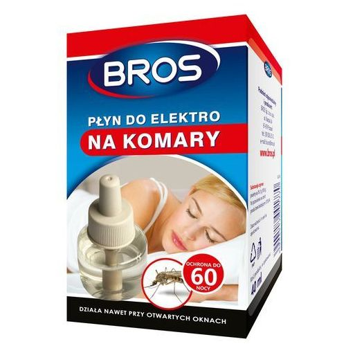 płyn do elektro na komary marki Bros