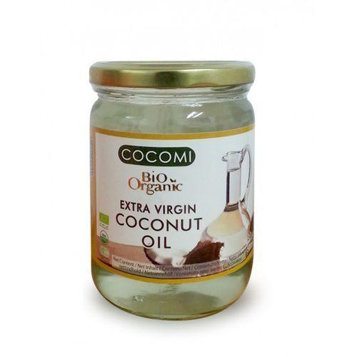 OLEJ KOKOSOWY VIRGIN BIO 500 ml - COCOMI (Oleje, oliwy i octy)