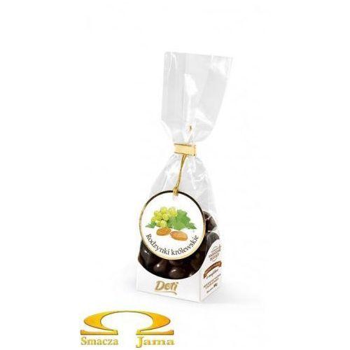 Rodzynki królewskie (winogrona) w czekoladzie 100g marki Doti