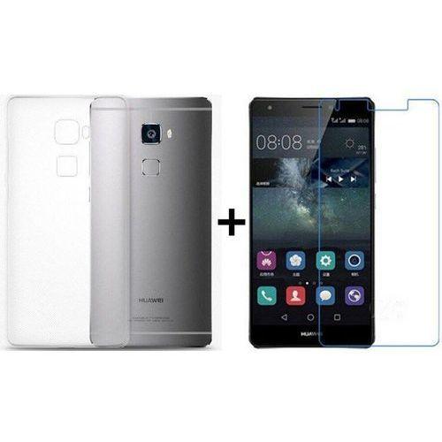 Zestaw | Obudowa Ultra Slim Przezroczysta + Szkło hartowane Perfect Glass | Huawei Mate S