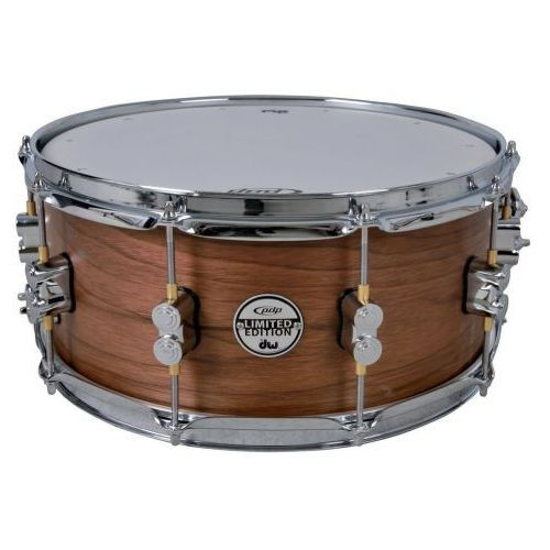 Pdp (pd805116) snaredrum ltd. edition maple/walnut 13x7″