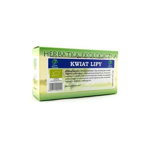 Dary natury Herbata kwiat lipy, ekspresowa 20x2g (5902741004499)