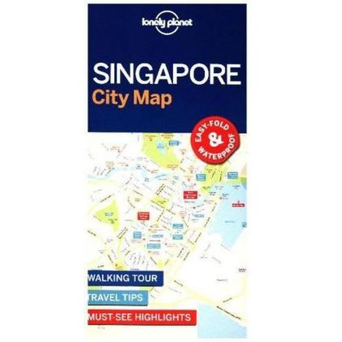 Lonely Planet Singapore City Map (2017)