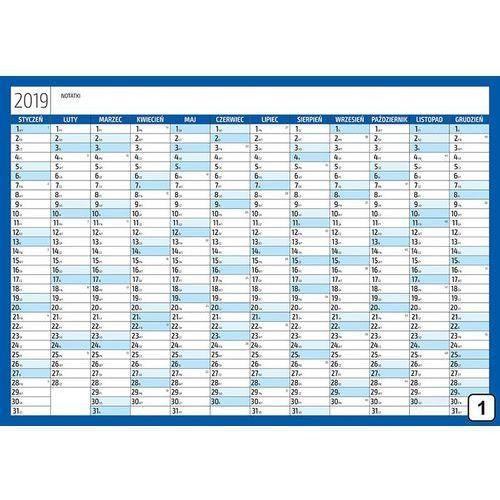 Kalendarz 2019 suchościeralny 272 marki Wally - piękno dekoracji
