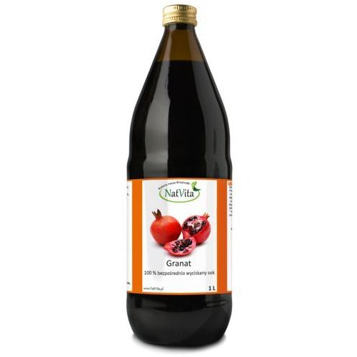 Bio granat sok organiczny 1l NatVita (5907377280071)