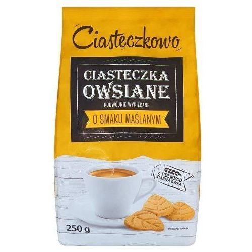 Ciasteczka owsiane listeczki maślane 250 g Sante