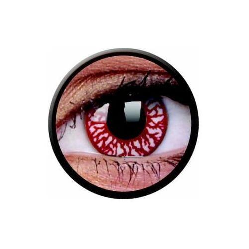 Soczewki kolorowe czerwone BLOOD SHOT Crazy Lens 2 szt., 239