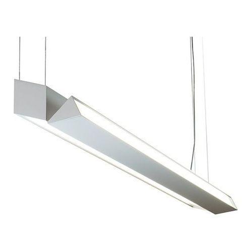 Lampa wisząca alonso l anodowane aluminium 2x24,8w led, 10152.06.ag marki Bpm lighting
