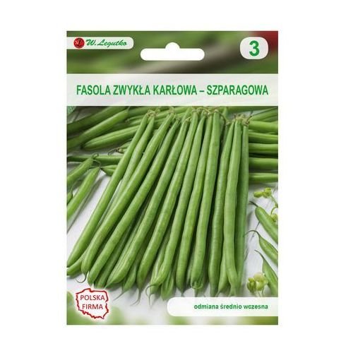 W. legutko Fasola zwykła karłowa cropper teepee nasiona tradycyjne 35 g