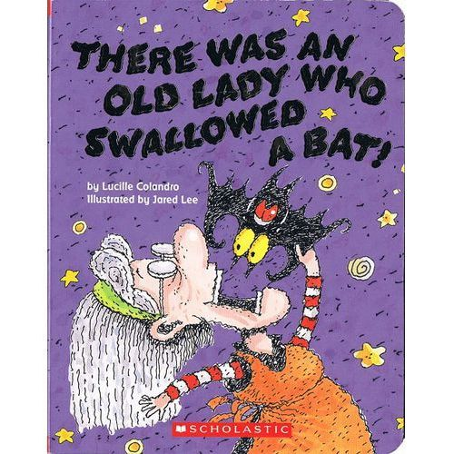 There was an Lady who swallowed a bat (twarda oprawa) (9781338135800)
