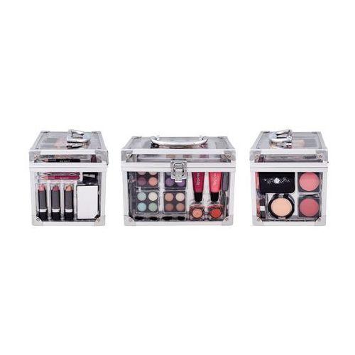 schmink set transparent w kosmetyki zestaw kosmetyków complet make up palette marki Makeup trading