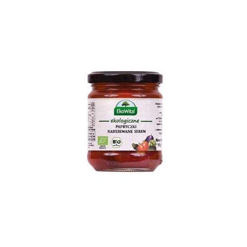 Papryczki nadziewane serem w oleju BIO 180 g (5908249971387)