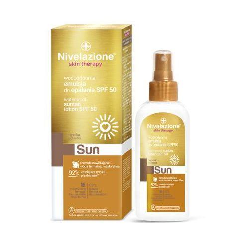 sun wodoodporna emulsja do opalania spf 50 150 ml marki Nivelazione skin therapy