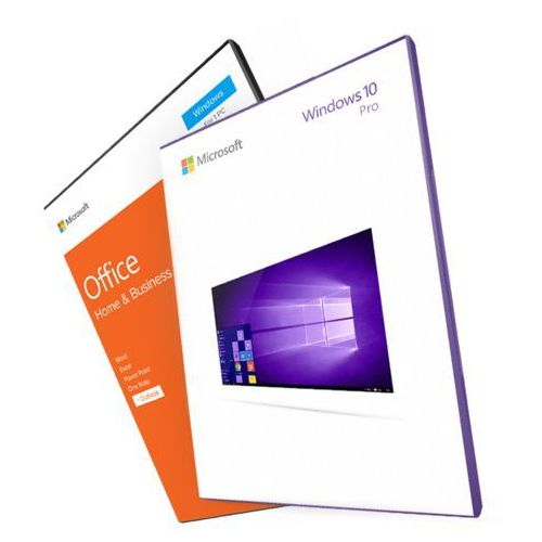 Windows 10 professional + office 2016 home and business (esd) 32/64 bit marki Microsoft