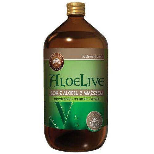 Laboratoria natury Aloelive sok z miąższem 1000ml