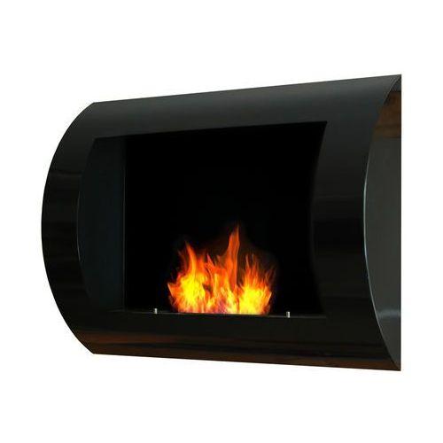 Biokominek dekoracyjny 60x45 cm czarny Convex by EcoFire, EF-6045-1