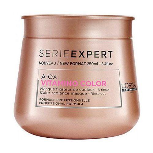 vitamino color aox, maska po farbowaniu, odbudowuje strukturę włosa 250ml marki Loreal