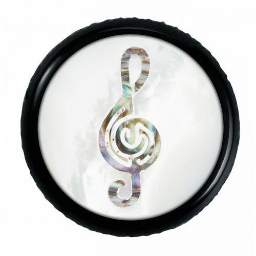 Warwick regler knopf, rund 6mm, clef, sw gałka potencjometru, round 6mm, clef, bk