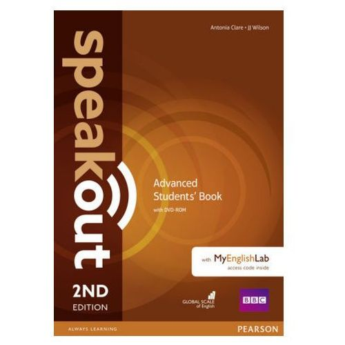 Speakout 2ed Advanced. Podręcznik + DVD-ROM + MyEnglishLAb, Antonia Clare, J.J. Wilson